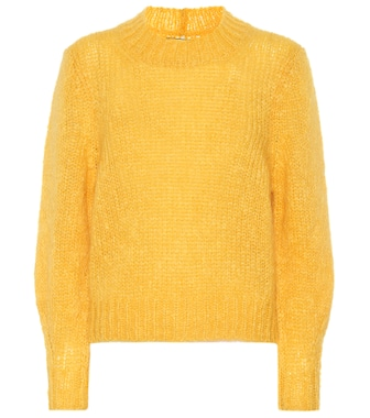 Isabel Marant - Ivah mohair and wool-blend sweater - mytheresa.com