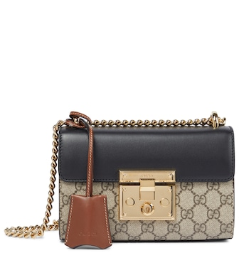 Gucci - Padlock GG Supreme shoulder bag - mytheresa.com