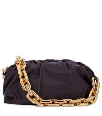 Bottega Veneta - The Chain Pouch leather shoulder bag - mytheresa.com