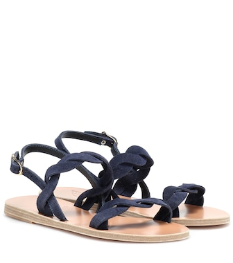 Ancient Greek Sandals - Suede sandals - mytheresa.com