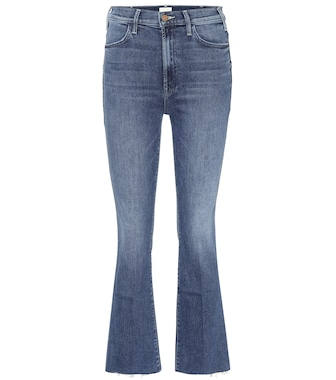 Mother - The Hustler cropped high-rise jeans - mytheresa.com