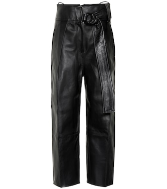 Petar Petrov - Haena high-rise leather pants - mytheresa.com