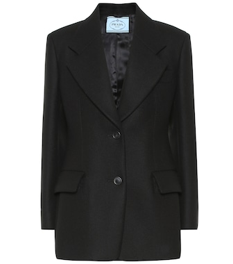 Prada - Virgin wool blazer - mytheresa.com