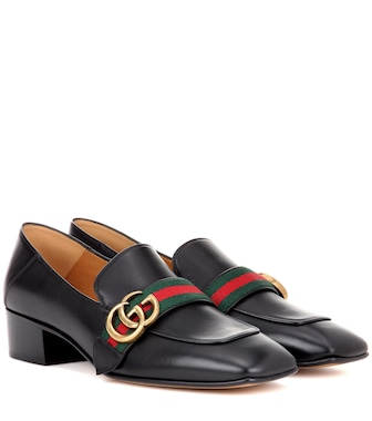 Gucci - Leather loafers - mytheresa.com