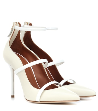 Malone Souliers - Robyn 100 leather pumps - mytheresa.com