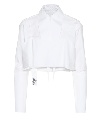 Absence of Paper - Layer Cake cotton shirt - mytheresa.com