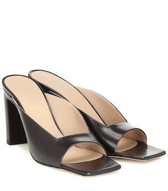 Wandler - Isa leather sandals - mytheresa.com