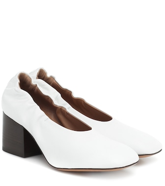 Marni - Leather pumps - mytheresa.com