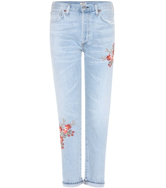 Citizens of Humanity - Embroidered jeans - mytheresa.com