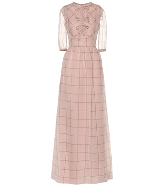 Valentino - Silk maxi dress - mytheresa.com