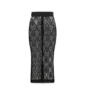 Dolce & Gabbana - Lace pencil skirt - mytheresa.com