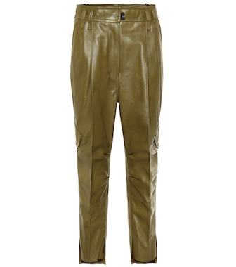 Petar Petrov - Hailey leather cargo pants - mytheresa.com