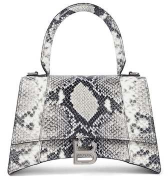 Balenciaga - Hourglass Small leather tote - mytheresa.com