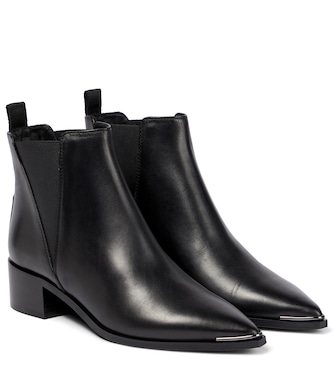 Acne Studios - Jensen leather ankle boots - mytheresa.com
