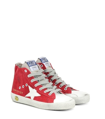 Golden Goose Kids - Francy high-top suede sneakers - mytheresa.com