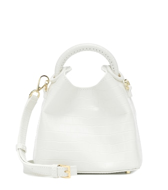 Elleme - Madeleine croc-effect shoulder bag - mytheresa.com