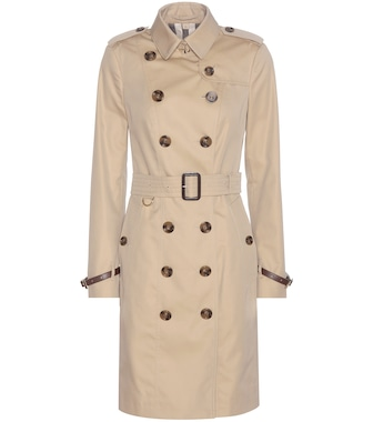 Burberry - The Sandringham cotton trench coat - mytheresa.com