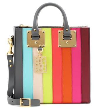 Sophie Hulme - Albion Square Rainbow leather shoulder bag - mytheresa.com