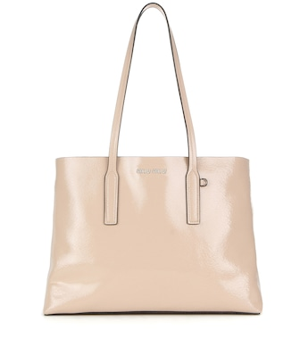 Miu Miu - Patent leather tote - mytheresa.com