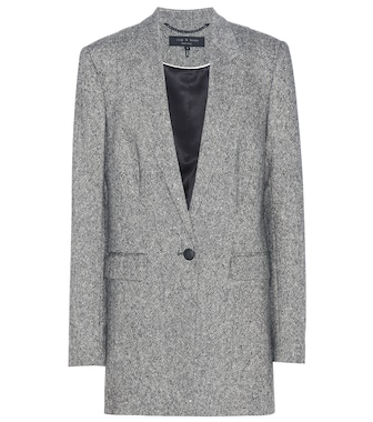 Rag & Bone - Ronin tweed wool blazer - mytheresa.com