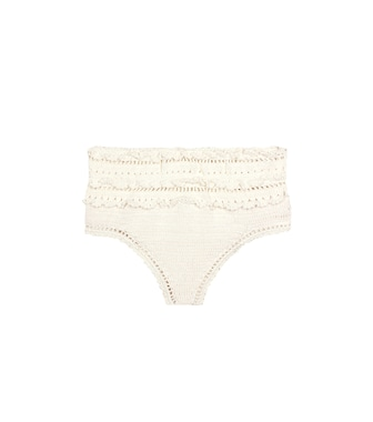 She Made Me - Amira high-waisted bikini bottoms - mytheresa.com