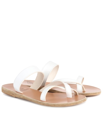 Ancient Greek Sandals - Daphnae leather sandals - mytheresa.com