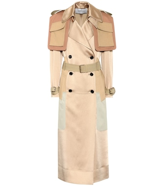 Valentino - Satin trench coat - mytheresa.com