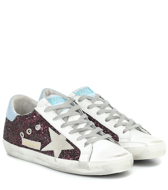 Golden Goose - Superstar glitter sneakers - mytheresa.com