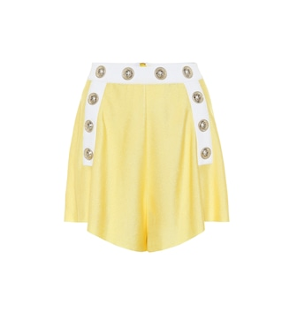 Balmain - Exclusive to Mytheresa – High-rise knit shorts - mytheresa.com
