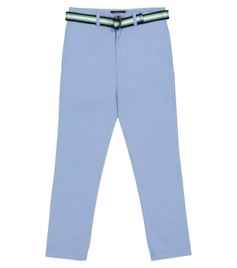 Polo Ralph Lauren Kids - Stretch-cotton pants - mytheresa.com