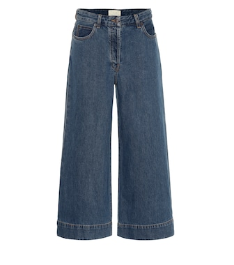 The Row - Edna wide-leg jeans - mytheresa.com