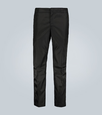 Prada - Technical casual pants with logo - mytheresa.com
