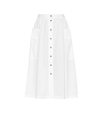 Tomas Maier - Cotton poplin skirt - mytheresa.com