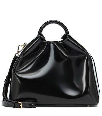 Elleme - Raisin leather shoulder bag - mytheresa.com