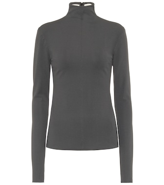 Bottega Veneta - Turtleneck top - mytheresa.com