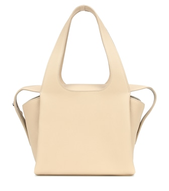 The Row - TR1 leather tote - mytheresa.com