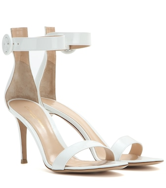 Gianvito Rossi - Exclusive to Mytheresa – Portofino patent leather sandals - mytheresa.com