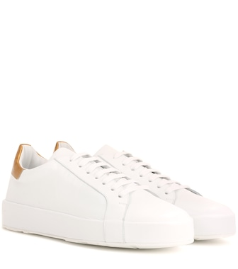 Jil Sander - Leather sneakers - mytheresa.com