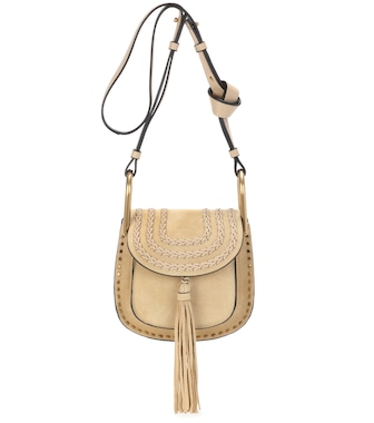 Chloé - Hudson Mini suede shoulder bag - mytheresa.com