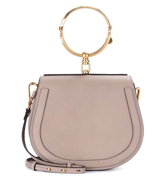 Chloé - Medium Nile leather bracelet crossbody bag - mytheresa.com
