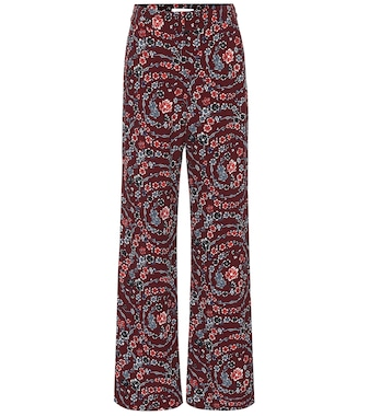 See By Chloé - Floral wide-leg pants - mytheresa.com