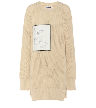 Jil Sander - Oversized cotton sweater - mytheresa.com