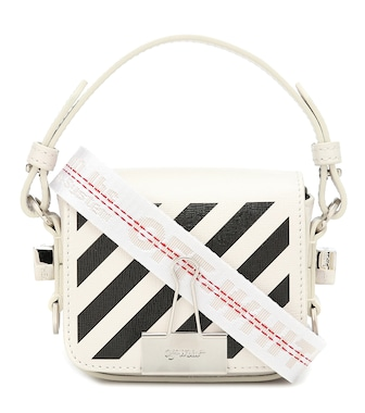 Off-White - Binder Clip Baby leather shoulder bag - mytheresa.com