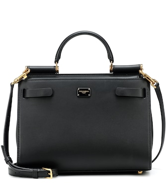 Dolce & Gabbana - Sicily 62 Small leather tote - mytheresa.com
