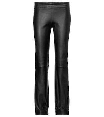 Stouls - Massoud leather track pants - mytheresa.com