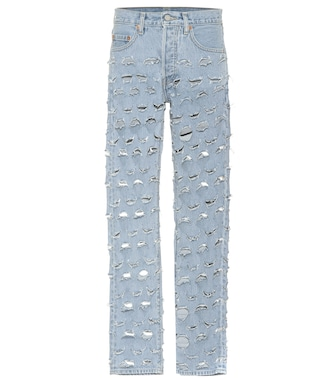 Vetements - X Levi's® distressed jeans - mytheresa.com