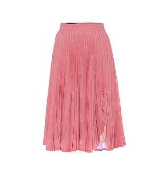 Calvin Klein 205W39NYC - Pleated midi skirt - mytheresa.com