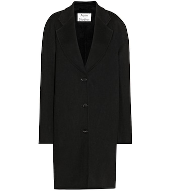 Acne Studios - Landi wool and cashmere coat - mytheresa.com