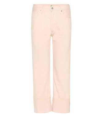 Citizens of Humanity - Parker relaxed cuffed crop jeans - mytheresa.com