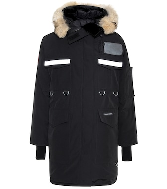 Canada Goose - Resolute Parka fur-trimmed down coat - mytheresa.com